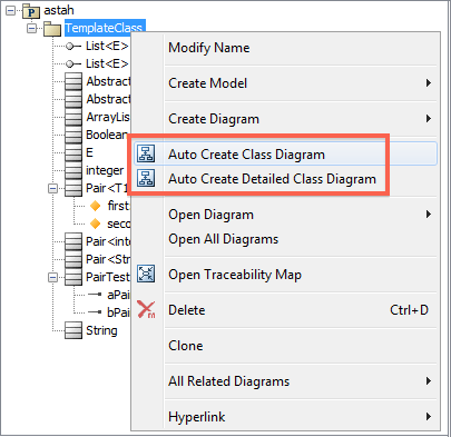 Astah users community site forum 5 a class diagram would be created in the diagram editor ccuart Choice Image